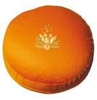 "Meditationskissen ""Lotus OM"", orange"