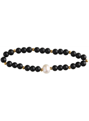 "Armband ""The inner Pearl"", gold"